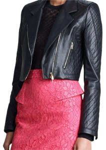 Jason Wu black Leather Jacket
