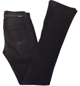 Mother Straight Leg Jeans-Dark Rinse