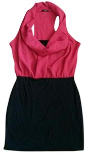 Soprano short dress Red & Black on Tradesy