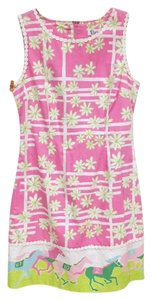 Lilly Pulitzer short dress Pink, Green, White, Blue on Tradesy