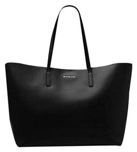 Michael Kors Emry Extra Large Tote in Black Silver