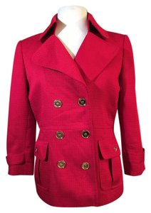 Tahari Red Blazer