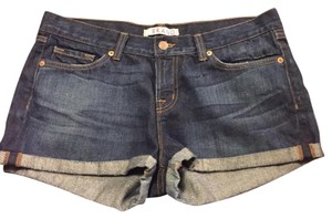 J Brand Cuffed Shorts dark denim