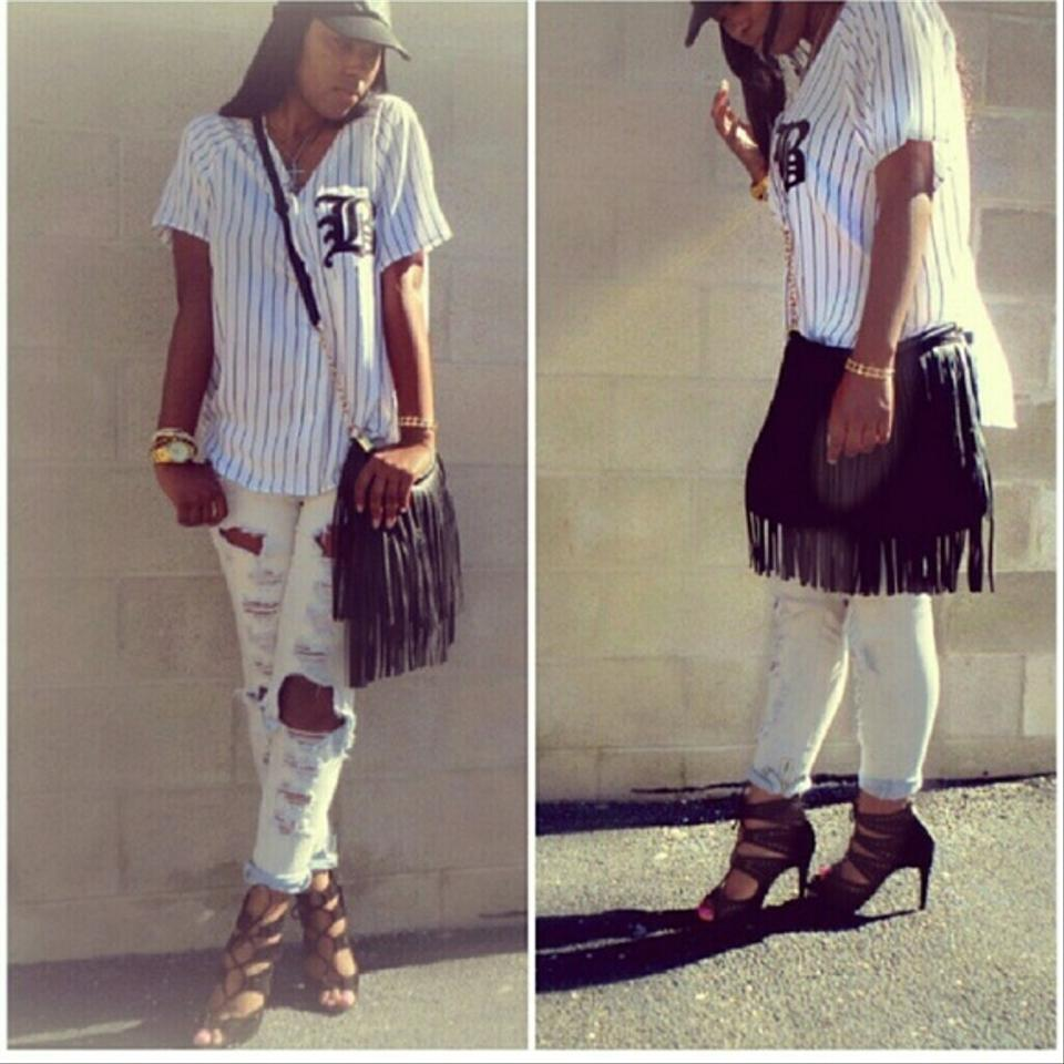 H&m Black/white Baseball