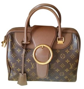 Louis Vuitton Limited Edition Arrow Speedy Speedy Monogram Satchel in Brown/ Khaki