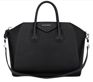 Givenchy Goat Leather Tote in Black