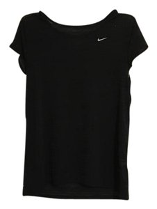 Nike cool breeze dri fit running top XS T Shirt black