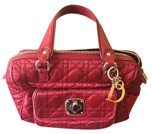 Dior Satchel in red