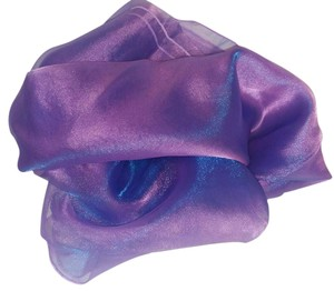 Lot Of 16 60x60 Purple Radiance Organza Overlays