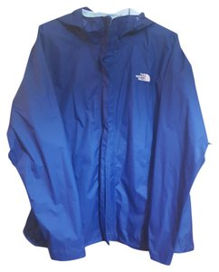 The North Face Windbreaker Gently Worn Navy Jacket