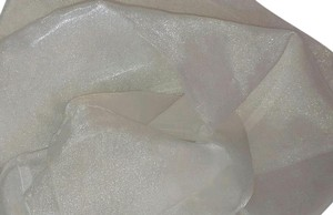 Lot Of 18 72x72 Ivory Organza Overlays