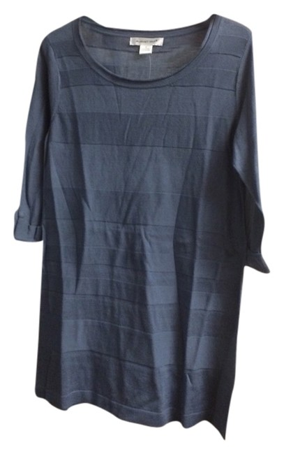 Preload https://item4.tradesy.com/images/august-silk-blue-gray-blouse-size-4-s-2105293-0-0.jpg?width=400&height=650