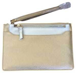 Sondra Roberts Squared Gold (larger), Silver (smaller) Clutch