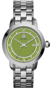 Tory Burch Tory Watch, Stainless Steel/Olive Green, 37 mm TRB1007