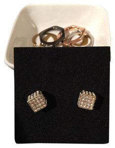Lia Sophia Ladies dice earrings | NWOT