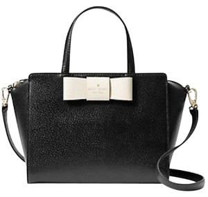 Kate Spade Street Camplin Satchel in Black