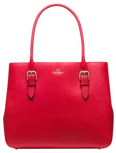 Kate Spade Cove Street Ariel Tote in pill box Red
