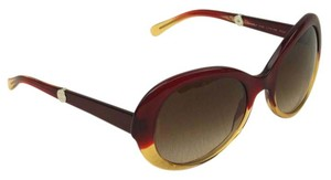 Chanel Chanel Oval Maroon Red with Yeallow Gold Jelly Opulent Sunglasses