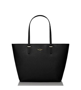 Kate Spade Down The Rabbit Hole Oops A Daisy Large Travel Tote in Black