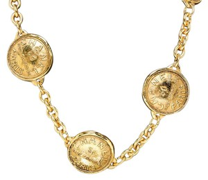 Chanel Chanel Gold Vintage Paris 31 Rue Cambon Medallion Necklace/Belt 205553
