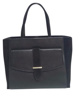 Kate Spade Leather Margareta Penn Tote in Black
