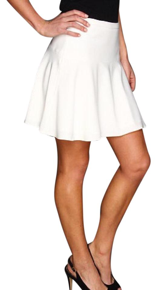 54ff3408ee BCBGMAXAZRIA Off White Lucy A-line / 8155098 Skirt Size 4 (S, 27 ...