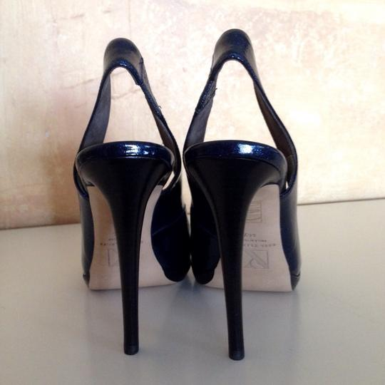 Reed Krakoff Blue Platforms