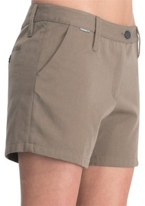 Icebreaker Hiking Wool Cotton Mid-rise Shorts Khaki