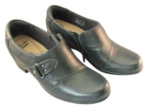Clarks Navy Blue Mules