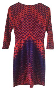 Daniel Cremieux Cremieux Red Flattering Dress