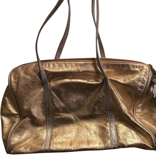 Item - Gold & Silver Hobo Bag