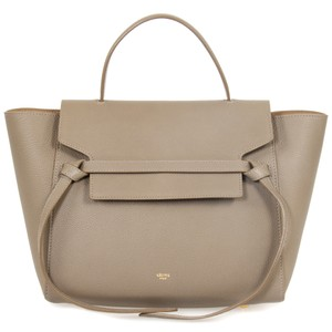Cline Pebbled Leather Classic Calfskin Shoulder Bag
