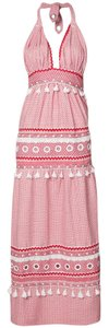 red/white Maxi Dress by DODO BAR OR