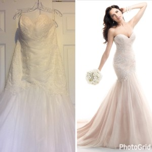 Maggie Sottero Maggie Sottero Bridal Dress W/veil Wedding Dress