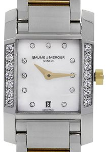 Baume & Mercier Baume & Mercier Diamant Two Tone Diamond Dial Watch