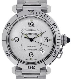 Cartier Cartier Pasha 2378 Stainless Steel Skeleton Back Watch