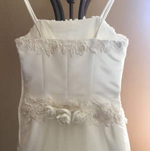 Michelangelo Beautiful Sheath Ivory Wedding Gown Wedding Dress