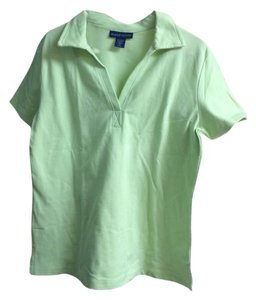 Karen Scott Top Lime