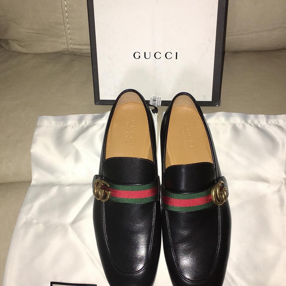 57a85762c7a1 Gucci Black Men Donnie Loafers Fits Large Please Order Full Down ...