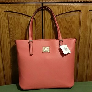 Anne Klein Tote in Coral
