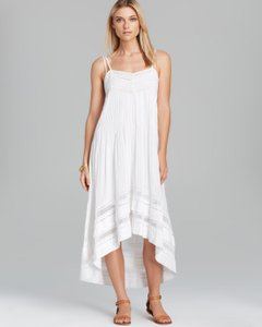 White Maxi Dress by Twelfth St. by Cynthia Vincent Maxi 100% Cotton Lace