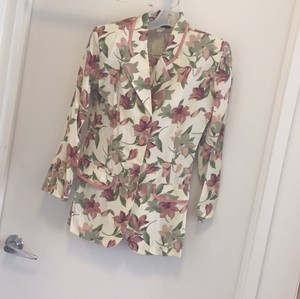 Dawn Joy vintage printed skirt suit