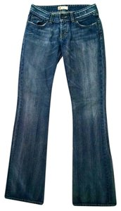 BKE Size 30 X 37 1/2 Low Rise P1288 Boot Cut Jeans-Medium Wash