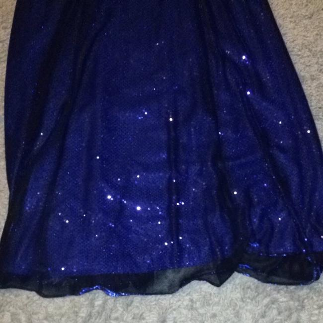 Betsy & Adam Sequins Prom Dress