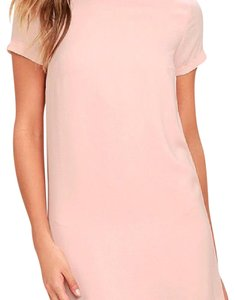 Lulu*s short dress pink on Tradesy