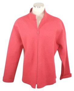Eileen Fisher Merino Coral Jacket Pea Coat