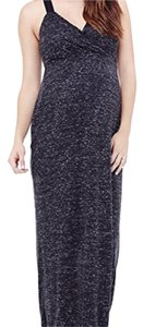 Ingrid & Isabel Women's Maternity Marble Crossover Maxi Dress