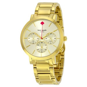 Kate Spade NWT Gold-Tone Gramercy Grand Watch 1YRU0715