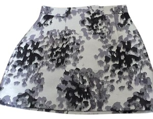 H&M Skirt black and grey print
