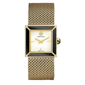 Tory Burch sawyer gold mesh watch
